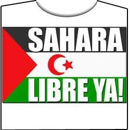 SAHARA LIBRE YA! – Camiseta manga corta – AMEDISK 935f2f4a4c9